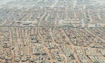 UN Syrian Refugee Camps, Jordan