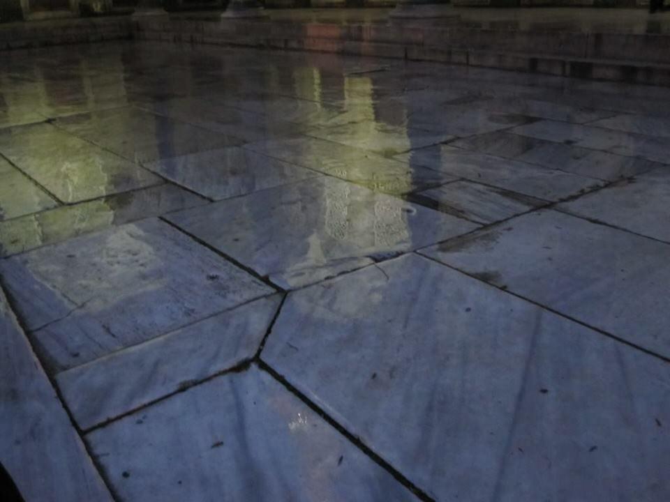 Marble floors in Turkey