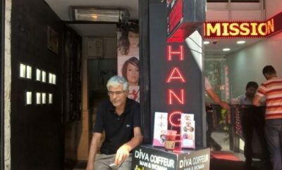 Getting My Hair Done in Sultanahmet