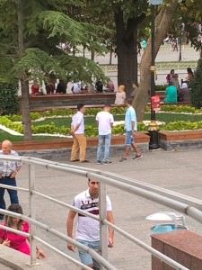 Street vendors, Bosporus Man, Turkish Drama or Avoid Gigolos