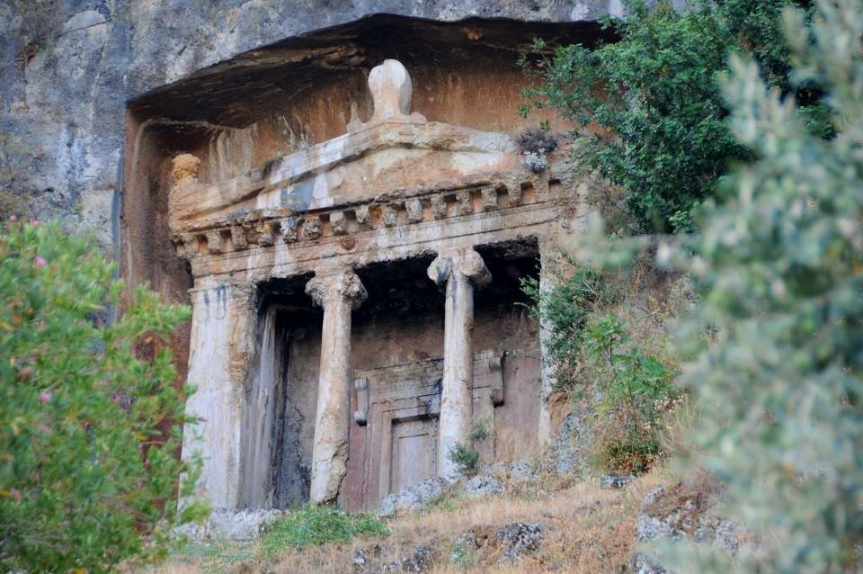 Lycian Tombs, Best Sights Fethiye Southern Turkey