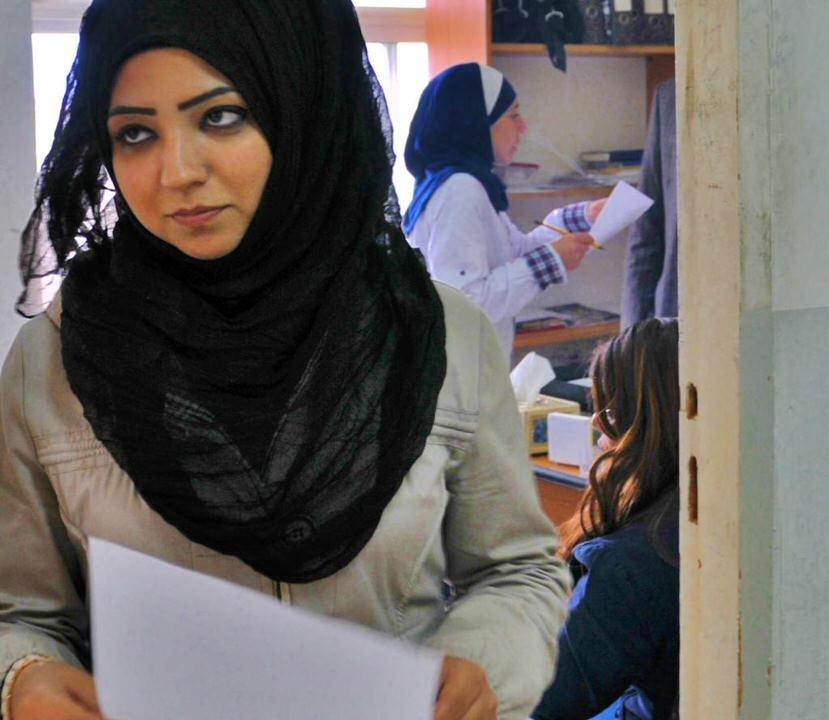 Many women are working in Ramallah Palestine, Ramallah Women