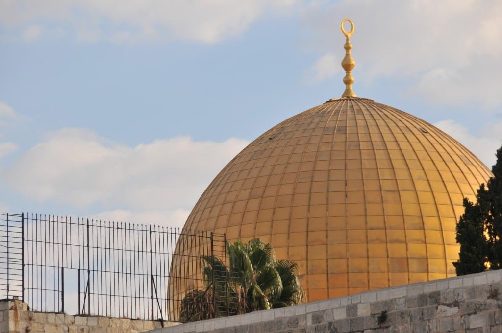 Jerusalem is Complicated and Intense. Jerusalem, The Temple Mount (Haram Es Sharif), Dome of the Rock