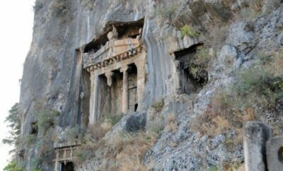 Lycian Tombs Fethiye ,Turkey