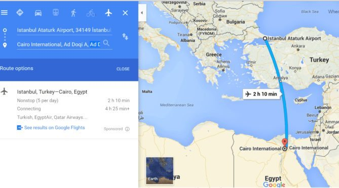 Turkey to Egypt to Lebanon Itinerary