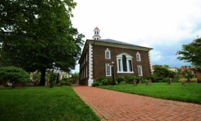 George Washington's Church and Town House in Alexandria VA