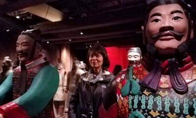 Reluctant Traveler - Terracotta Warriors Exhibition