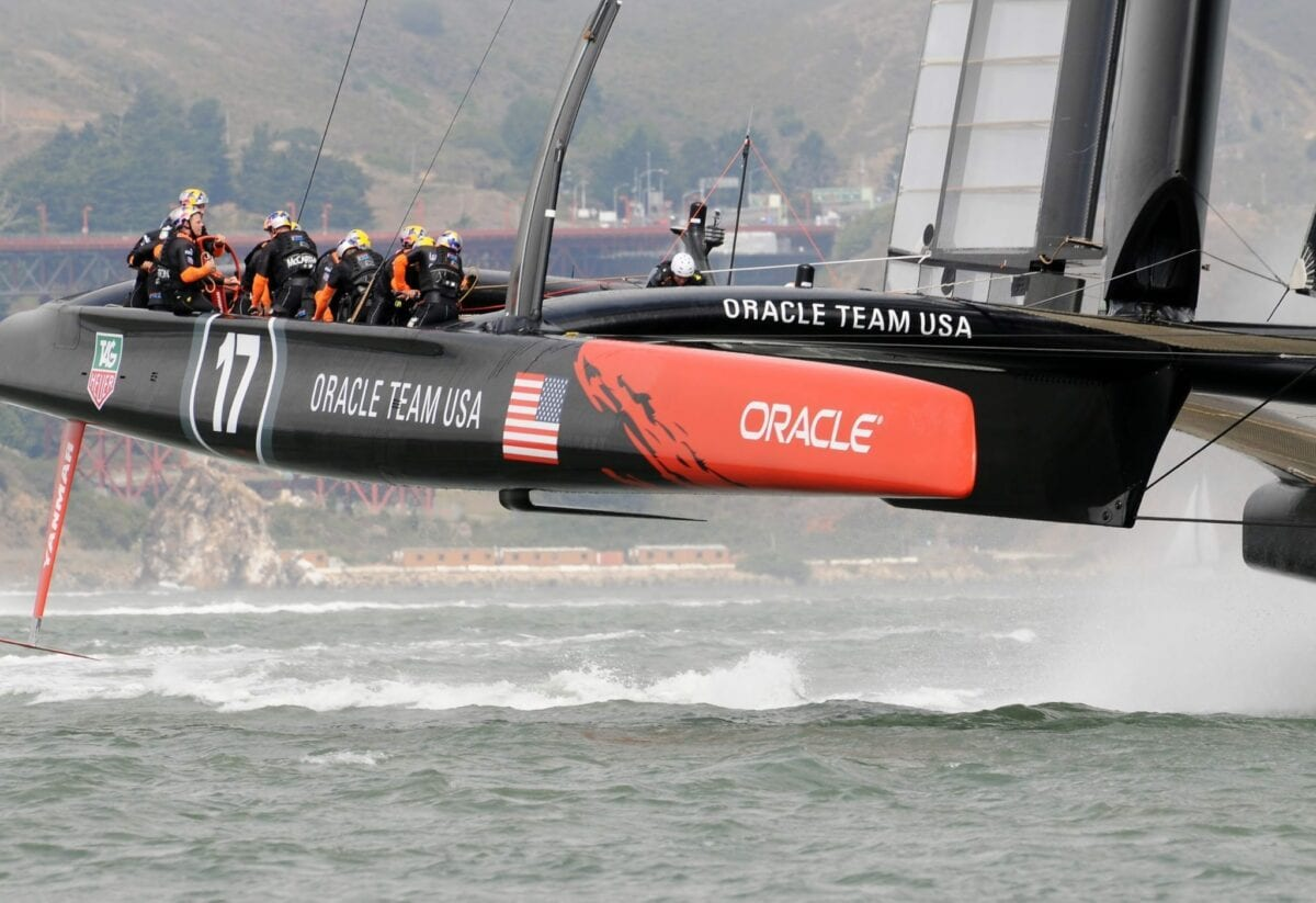 2013 America's Cup, Oracle Team USA, 2013 America's Cup