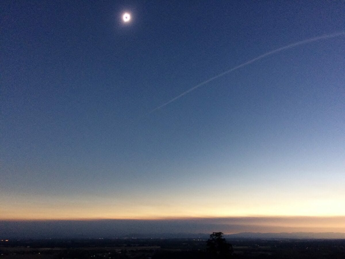 Totality Eclipse Corvallis Oregon