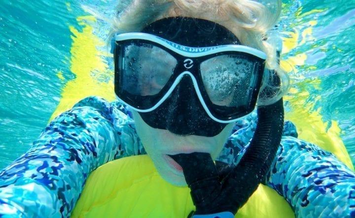 Belize Barrier Coral Reef and Snorkel