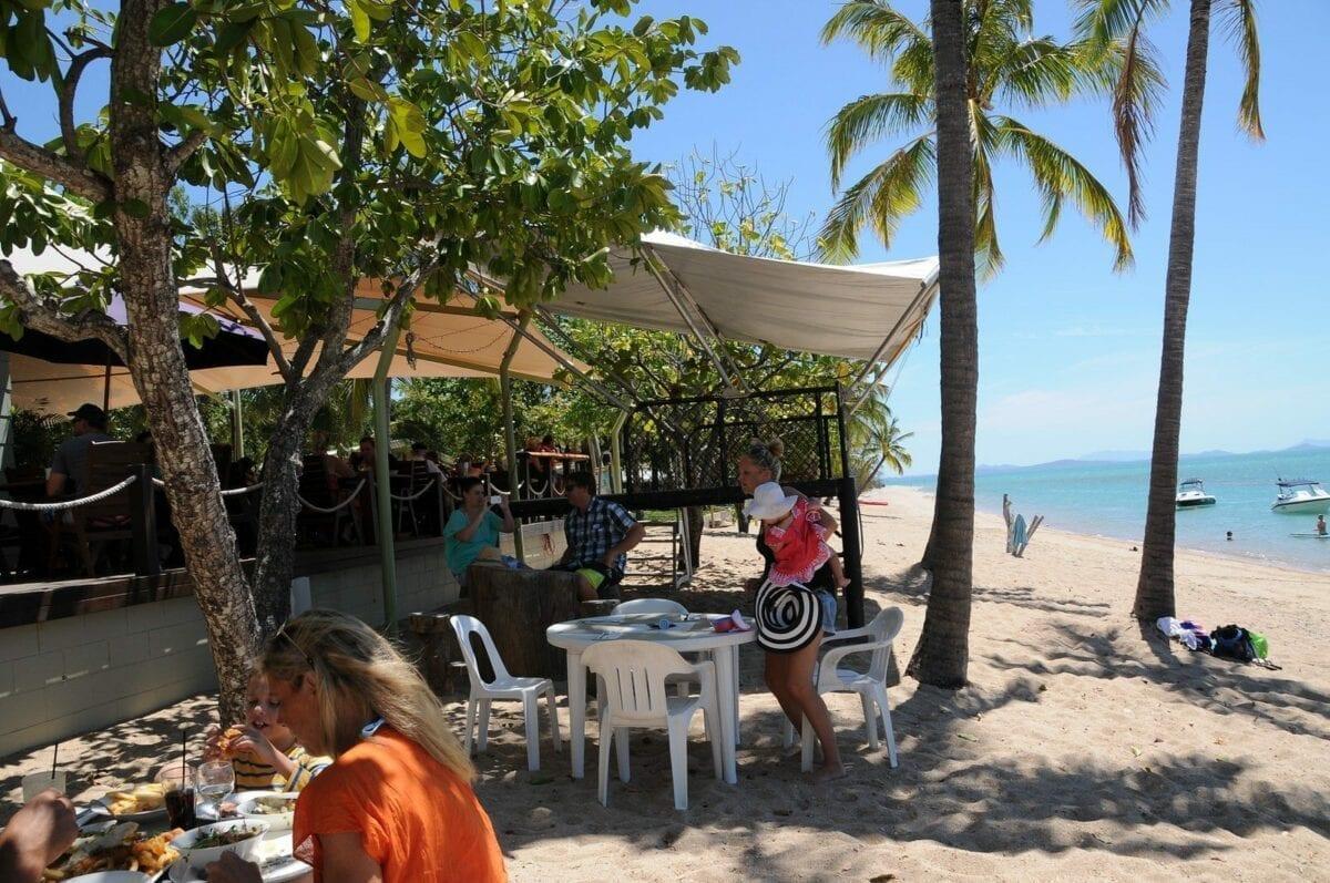 Monte's Restaurant, Airlie Beach, Queensland Australia