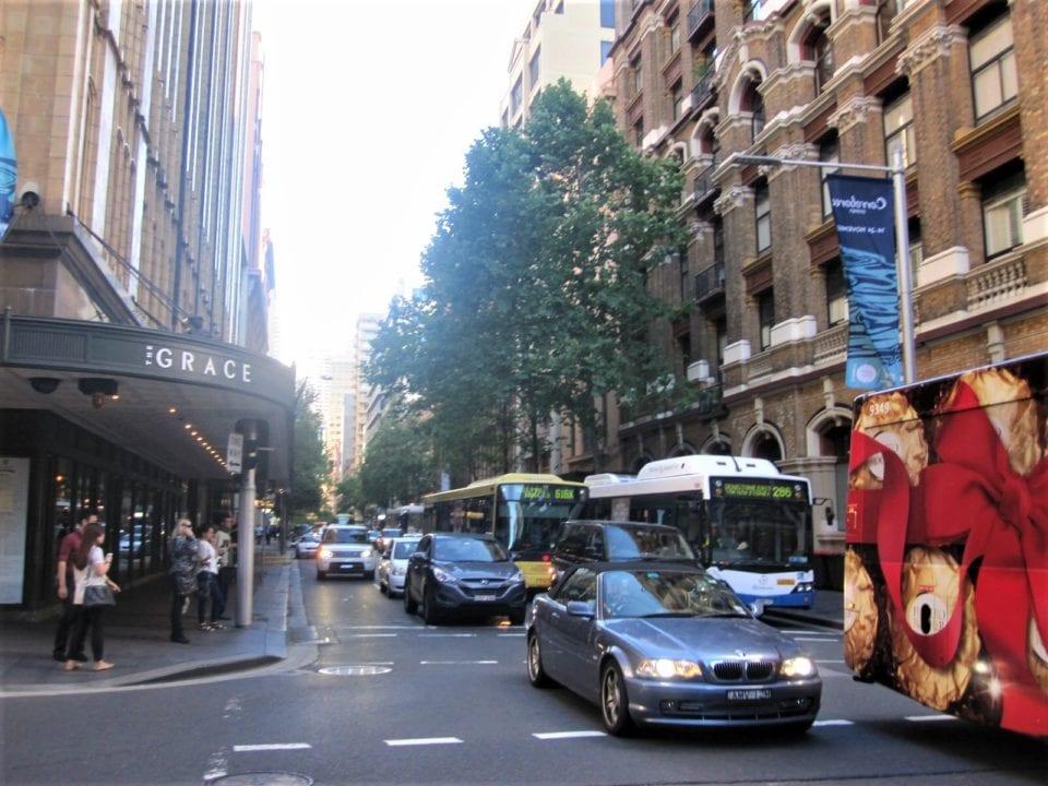 busy sydney australia street
