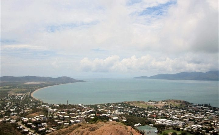 over view townsville-australia-