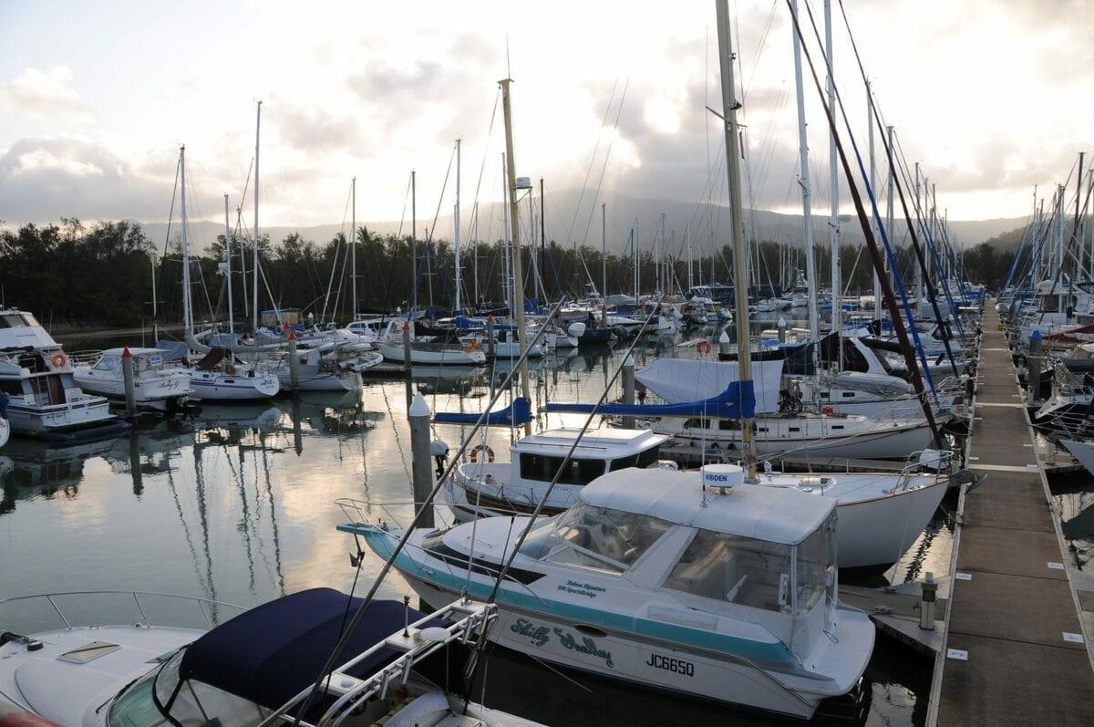 yorky knob marina, port douglas, quuensland