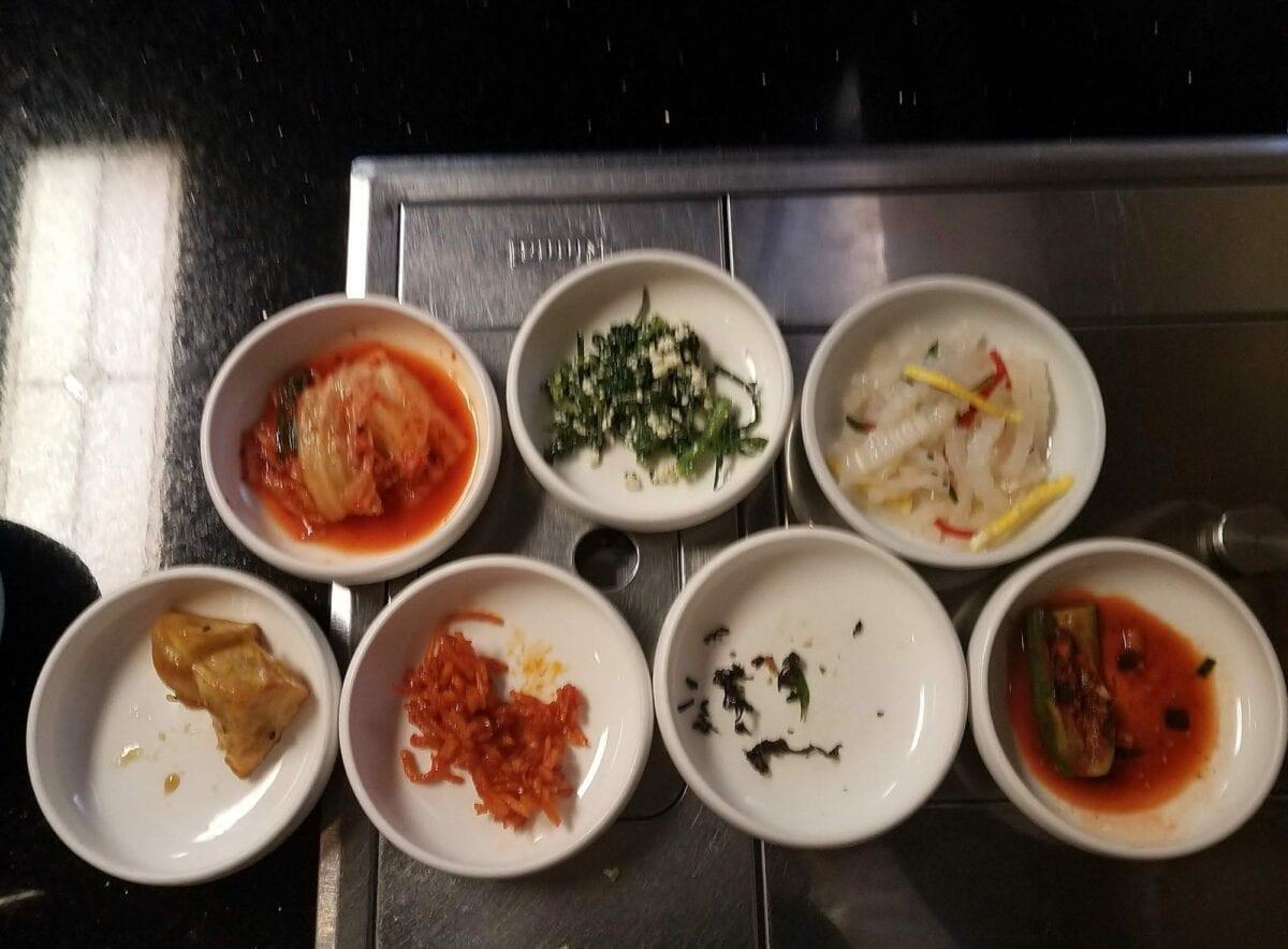 Winter Olympics Spirit, Eat Korean Food