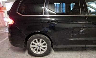 rental car damage