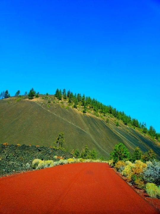 deschutes national forest. newberry national volcanic monument