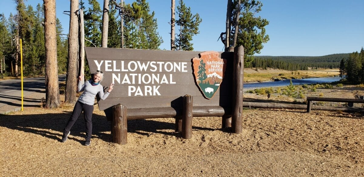 south entrance yellowstone national park