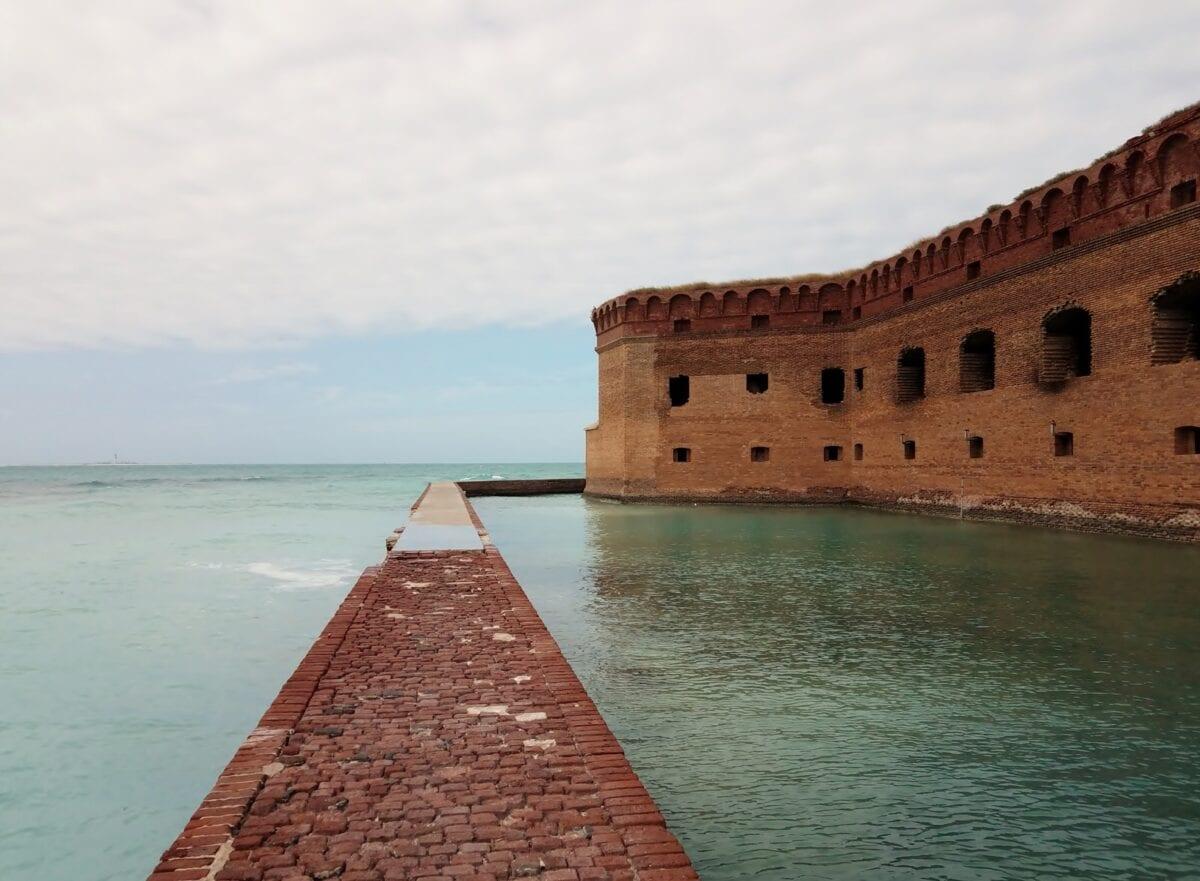 dry tortuga national park fort jefferson