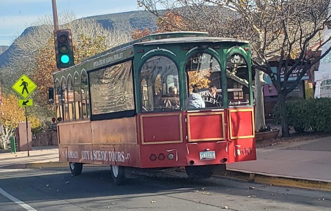 cable car downtown sedona arizona